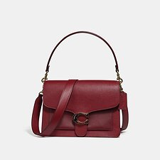 Image of Coach Australia B4/DEEP RED TABBY SHOULDER BAG
