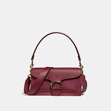 Image of Coach Australia B4/DEEP RED TABBY SHOULDER BAG 26