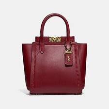 Image of Coach Australia B4/DEEP RED TROUPE TOTE 16