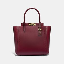Image of Coach Australia B4/DEEP RED TROUPE TOTE
