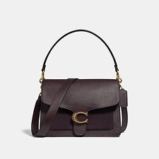 Image of Coach Australia B4/OXBLOOD TABBY SHOULDER BAG
