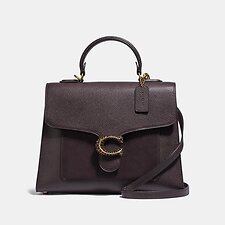 Image of Coach Australia B4/OXBLOOD TABBY TOP HANDLE