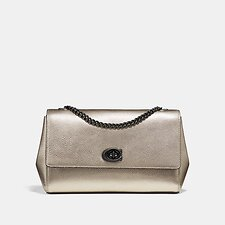 Image of Coach Australia GM/PLATINUM CAM CHAIN CROSSBODY CLUTCH