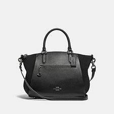 Image of Coach Australia GM/BLACK ELISE SATCHEL 29