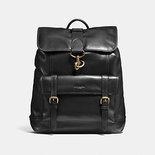 Image of Coach Australia OL/BLACK BLEECKER BACKPACK