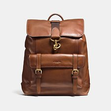 Image of Coach Australia OL/DARK SADDLE BLEECKER BACKPACK