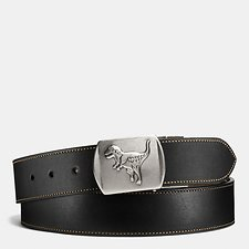 Picture of REXY PLAQUE CUT-TO-SIZE REVERSIBLE LEATHER BELT