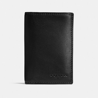 Image of Coach Australia  BIFOLD CARD CASE IN SPORT CALF LEATHER
