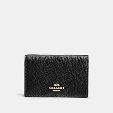 Image of Coach Australia LI/BLACK BUSINESS CARD CASE