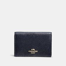 Image of Coach Australia LI/NAVY BUSINESS CARD CASE