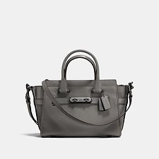 Picture of COACH SWAGGER 27 IN PEBBLE LEATHER