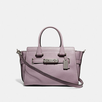 Image of Coach Australia  COACH SWAGGER 27 IN PEBBLE LEATHER
