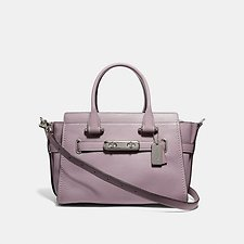 Image of Coach Australia SV/JASMINE COACH SWAGGER 27 IN PEBBLE LEATHER