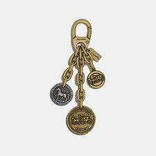 Image of Coach Australia B4L38 COACH ICON COIN MIX BAG CHARM