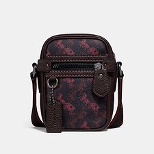 Image of Coach Australia JI/BLACK RED DYLAN 10 WITH HORSE AND CARRIAGE PRINT