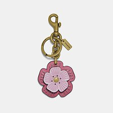 Image of Coach Australia B4PWN TEA ROSE BAG CHARM