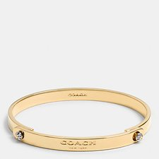 Picture of DAISY RIVET COACH TENSION BANGLE