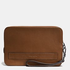 Image of Coach Australia CWH POUCHETTE IN SPORT CALF LEATHER