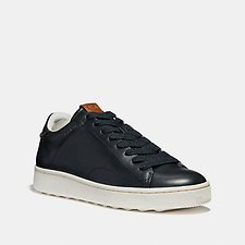 Image of Coach Australia BLACK C101 LOW TOP SNEAKER
