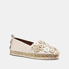 Picture of ASTOR ESPADRILLE WITH TEA ROSE
