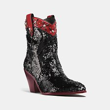 Picture of WESTERN BOOTIE WITH SEQUINS