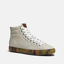 Image of Coach Australia WHITE C227 HIGH TOP