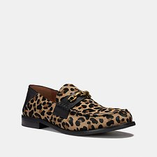 Image of Coach Australia NATURAL PUTNAM LOAFER WITH LEOPARD PRINT