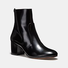 Image of Coach Australia BLACK JULIET ANKLE BOOTIE