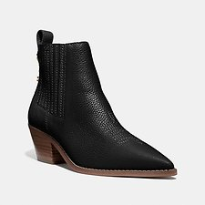 Image of Coach Australia BLACK MELODY BOOTIE