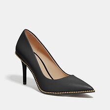 Image of Coach Australia BLACK WAVERLY PUMP